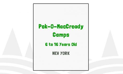 Pok-O-MacCready Camps - NY