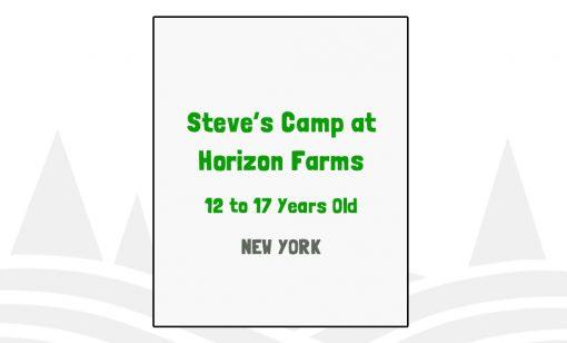 Steve's Camp at Horizon Farms - NY