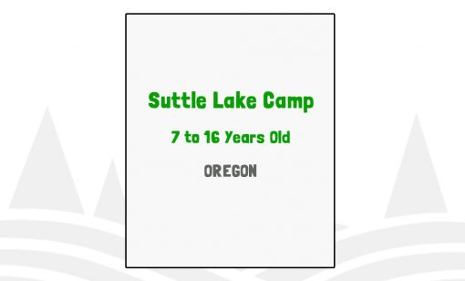 Suttle Lake Camp - OR