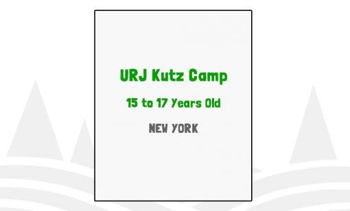 URJ Kutz Camp - NY