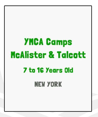 YMCA Camps McAlister & Talcott - NY