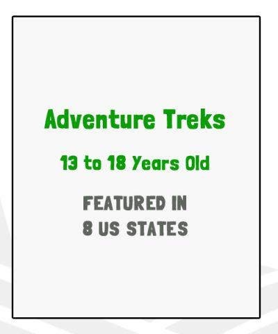 Adventure Treks - Featured in 8 US States