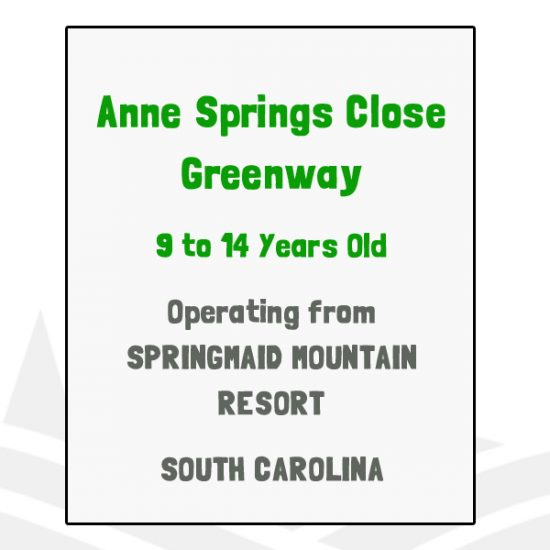 Anne Springs Close Greenway - SC