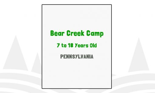Bear Creek Camp - PA