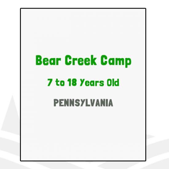 Bear Creek Camp - PA