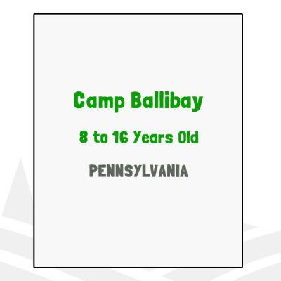 Camp Ballibay - PA