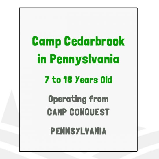 Camp Cedarbrook in Pennsylvania - PA