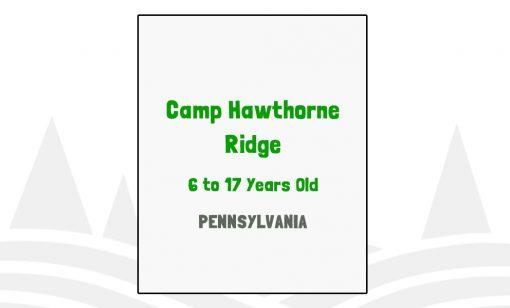 Camp Hawthorne Ridge - PA