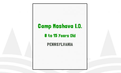 Camp Moshava IO - PA