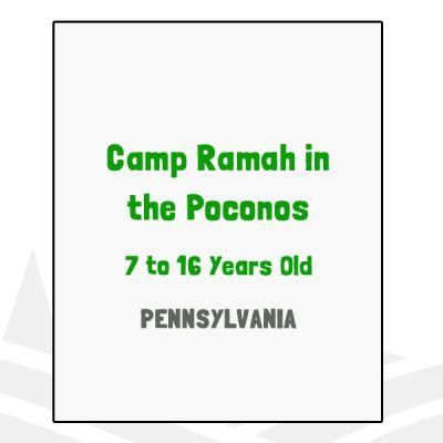 Camp Ramah in the Poconos - PA