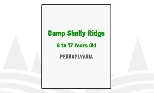 Camp Shelly Ridge - PA