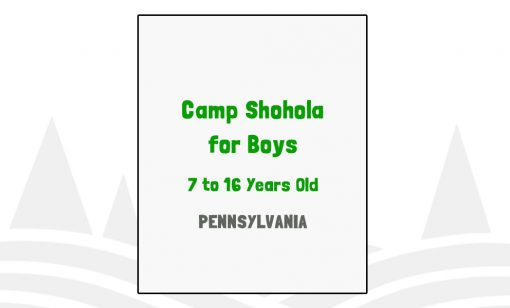 Camp Shohola for Boys - PA