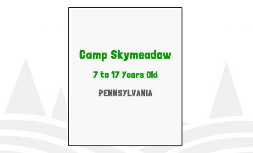 Camp Skymeadow - PA