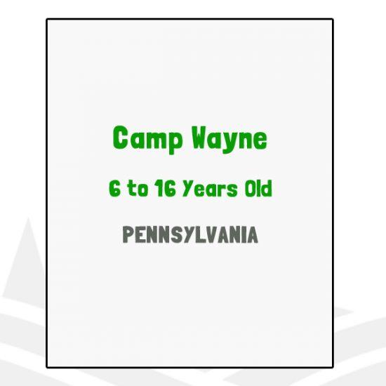 Camp Wayne - PA