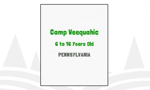 Camp Weequahic - PA