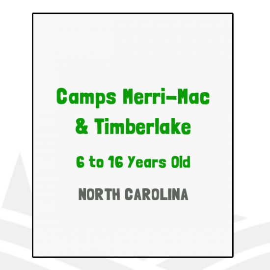Camps Merri-Mac & Timberlake - NC
