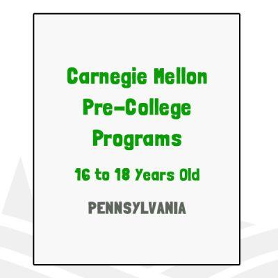 Carnegie Mellon Pre-College Programs - PA