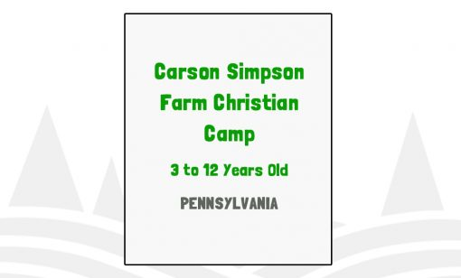 Carson Simpson Farm Christian Camp - PA