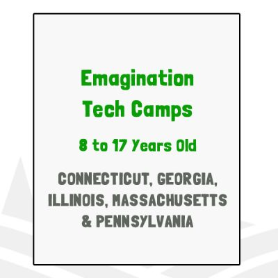 Emagination Tech Camps - CT, GA, IL, MA, PA