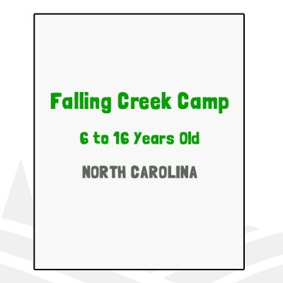 Falling Creek Camp - NC