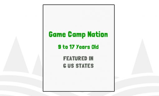 Game Camp Nation - Featured in 6 US States
