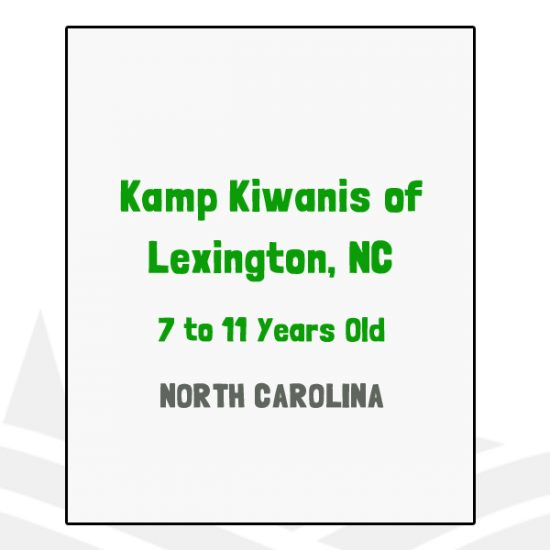 Kamp Kiwanis of Lexington, NC - NC