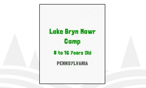 Lake Bryn Mawr Camp - PA