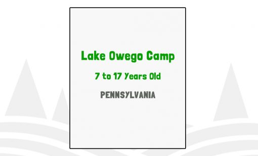 Lake Owego Camp - PA