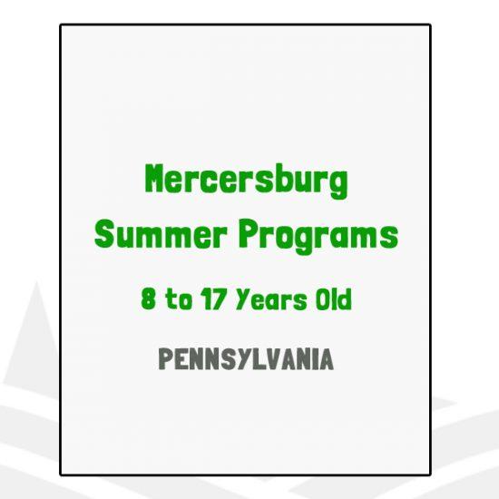 Mercersburg Summer Programs - PA