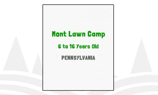 Mont Lawn Camp - PA