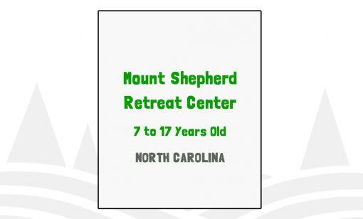 Mount Shepherd Retreat Center - NC