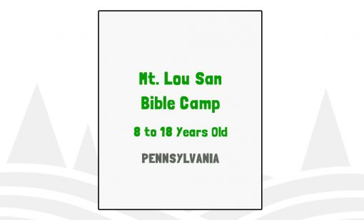 Mt Lou San Bible Camp - PA