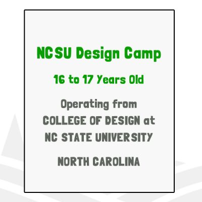 NCSU Design Camp - NC