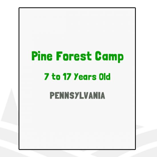 Pine Forest Camp - PA
