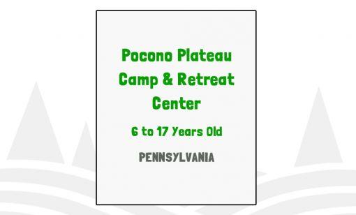 Pocono Plateau Camp & Retreat Center - PA