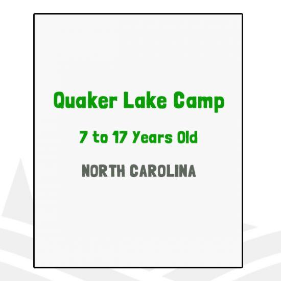Quaker Lake Camp - NC