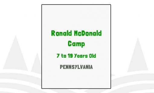 Ronald McDonald Camp - PA