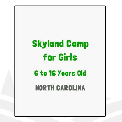 Skyland Camp for Girls - NC