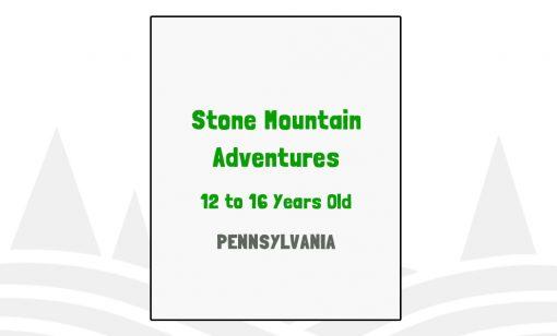 Stone Mountain Adventures - PA