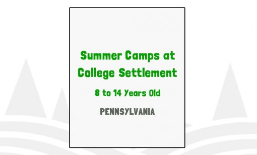 Summer Camps at College Settlement - PA