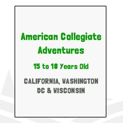 American Collegiate Adventures - CA, DC, WI