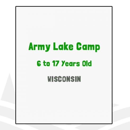Army Lake Camp - WI
