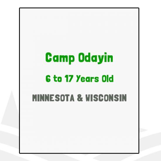 Camp Odayin - MN, WI