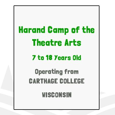 Harand Camp of the Theatre Arts - WI