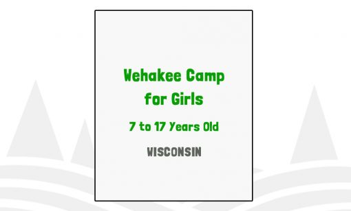 Wehakee Camp for Girls - WI
