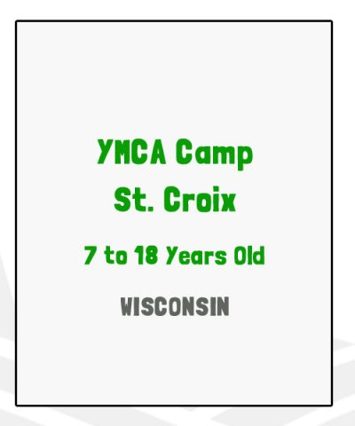 YMCA Camp St Croix - WI